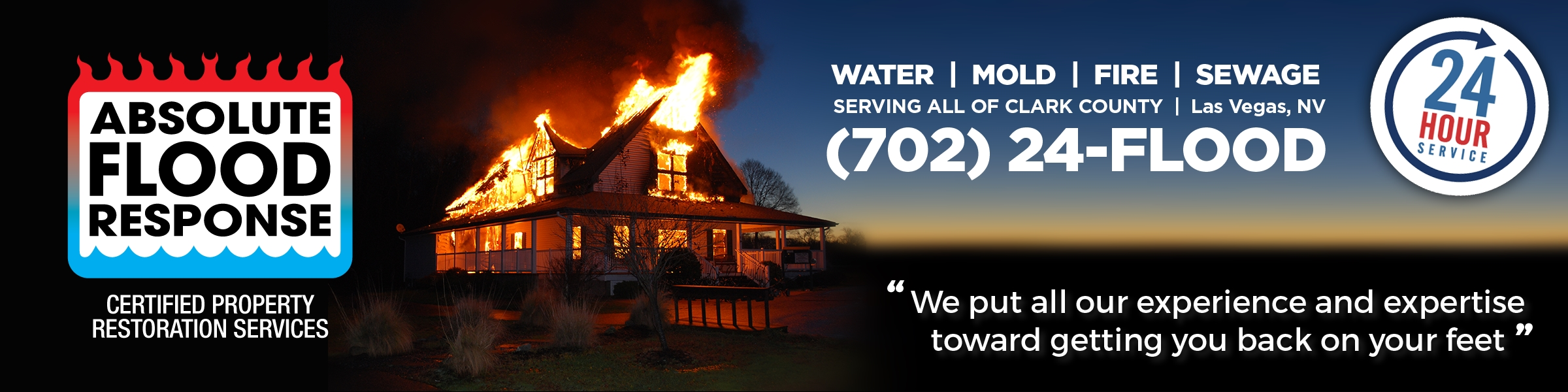 Absolute Flood Response water, mold, fire & sewage restoration and remitigation.
