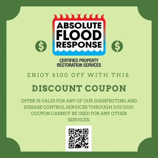 las vegas coronavirus disinfecting coupon absolute flood response nevada